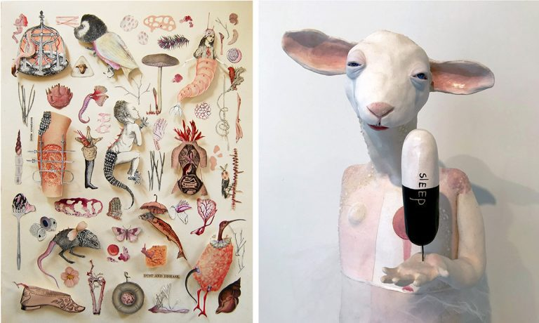 Strange Menagerie: Katie McCann and Suzanne Long